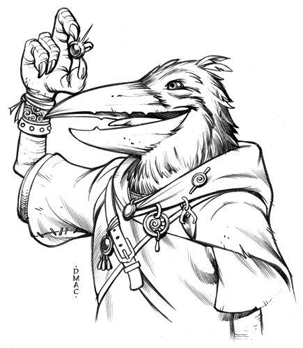 Kenku Rogue by D-MAC on deviantART