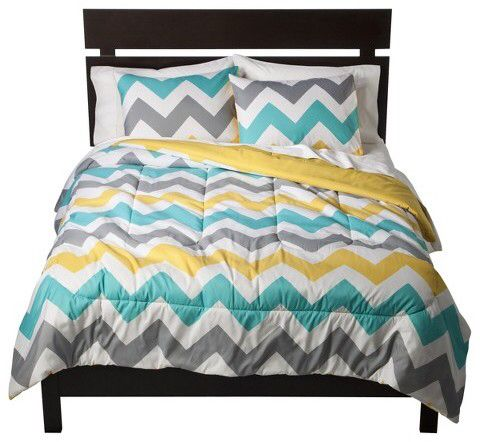 Room Essentials Chevron Comforter.  #adhttp://shopstyle.it/l/mFfA