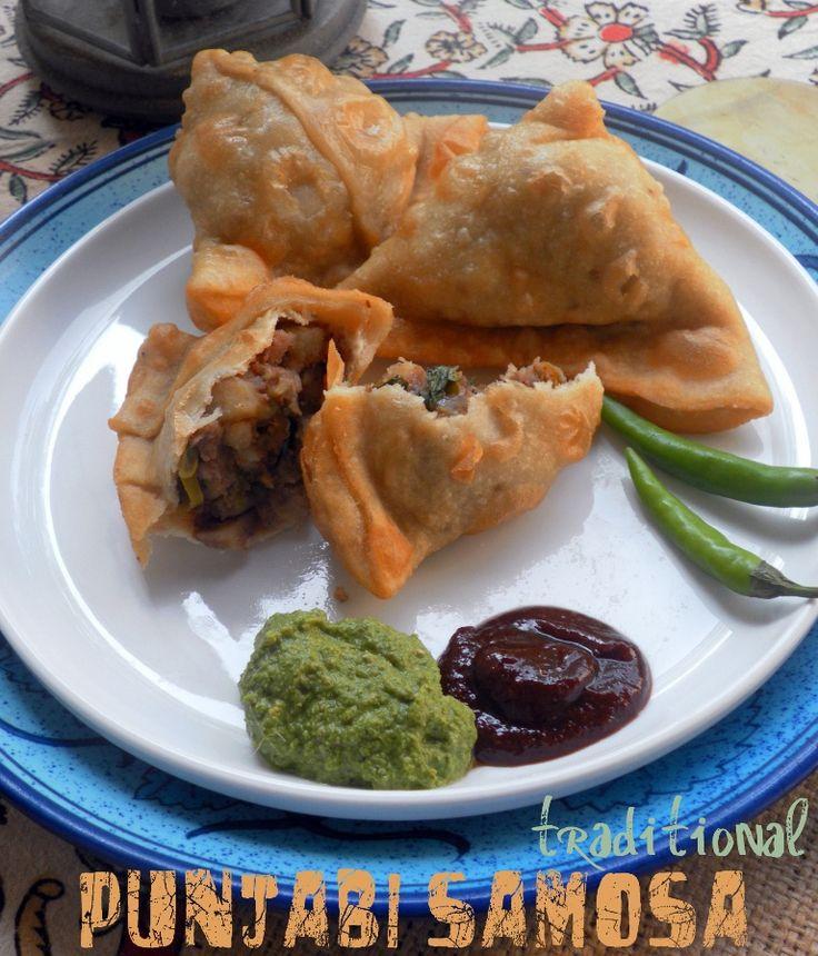 Traditional Punjabi Samosa