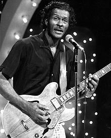 """Charles Edward Anderson """"Chuck"""" Berry-10/16-1916-3/18/2017. guitarist, singer and songwriter and is one pioneers of Rock and Roll music..."""