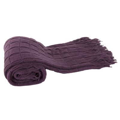 A&B Home Group, Inc Acrylic Cashmere Throw Blanket