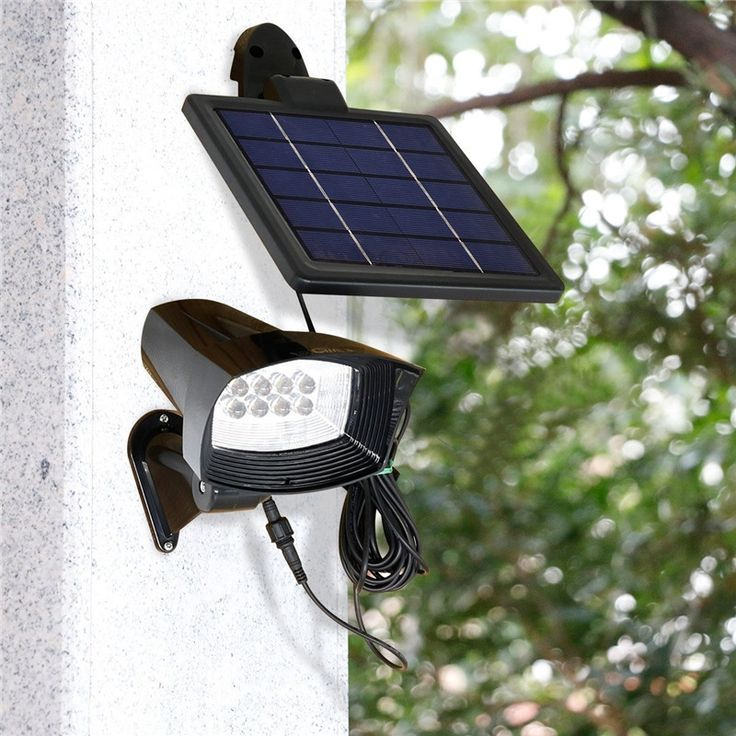 44.95$  Watch now - http://ali45c.shopchina.info/go.php?t=32724412081 - 1X New Outdoor Waterproof Solar Flood Light Spot Lamp, Ultra Bright Solar Powered Garden Lawn Wall Lamp, 8Led Solar Panel Lamps   #aliexpressideas