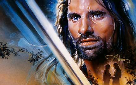 The Lord of the Rings - A Fierce Legacy - Aragorn - John Alvin - World-Wide-Art.com