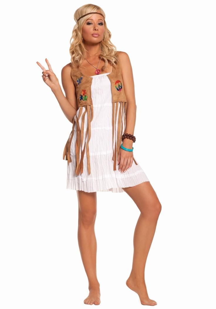 Sexy Flower Child Hippie Costume