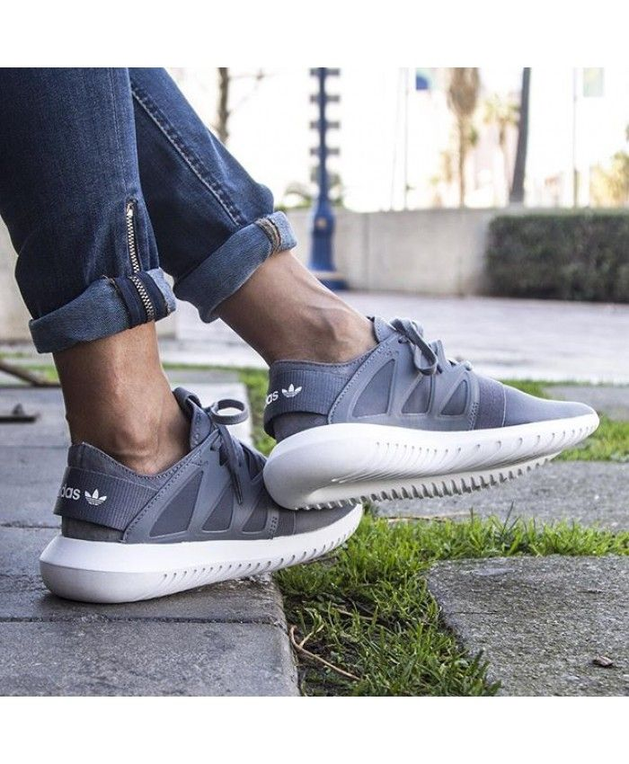 new style 4b850 c154b Adidas Tubular Viral M Wolf Grey White Shoes   tubular viral ...