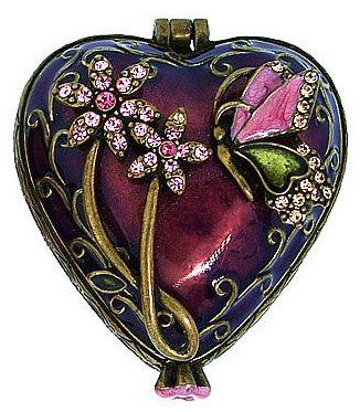 Beautiful Heart Trinket Box!