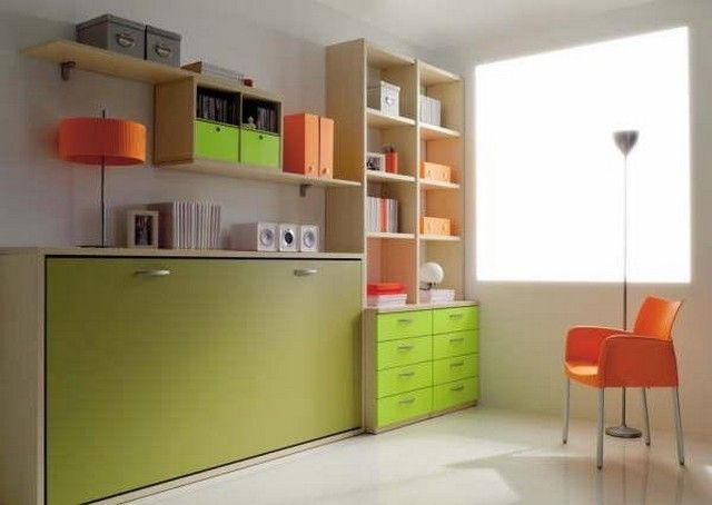 Подъемная шкаф-кровать «Sash»