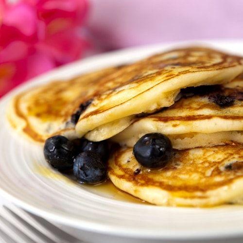 La ricetta dei pancake ai mirtilli