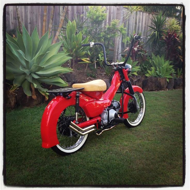 Ultimate 110 postie bike!