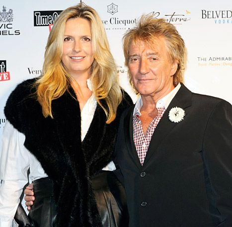 Rod Stewart, Wife Penny Lancaster Separated for Two Weeks - Us Weekly