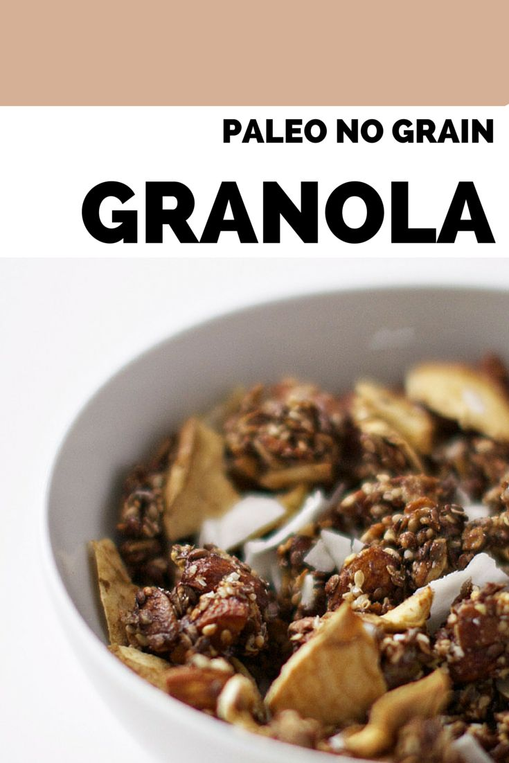 getreidefrei, hergestellt aus Samen, Mandeln, Apfelchips und Kokosflocken   – Desserts – Convert to Paleo