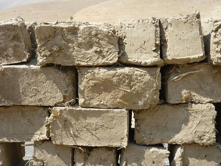 Mud Brick Construction Building Ideas Pinterest