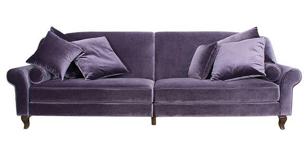 Акция! При оплате на сайте скидка 5%. Трехместный диван, обитый нежнейшим фиолетовым велюром, органично дополнит меблировку гостиной в стиле арт-деко или барокко. Массивная и солидная мебель выглядит по-настоящему дорого. Изящно изогнутые подлокотники и дополнительные подушки - сдержанный и уместный декор дивана. http://ifab.ru/collection/main-page/product/fa0010027-0118?utm_source=pinme&utm_medium=smm&utm_campaign=product