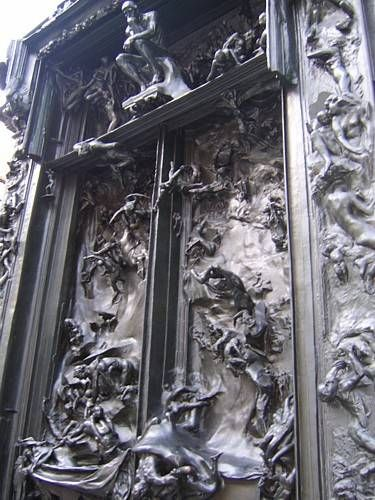 Paris Sightseeing The Thinker Statue in the Rodin Sculpture Garden & 102 best Gate of Hell images on Pinterest | Gates Sculptures and ... pezcame.com
