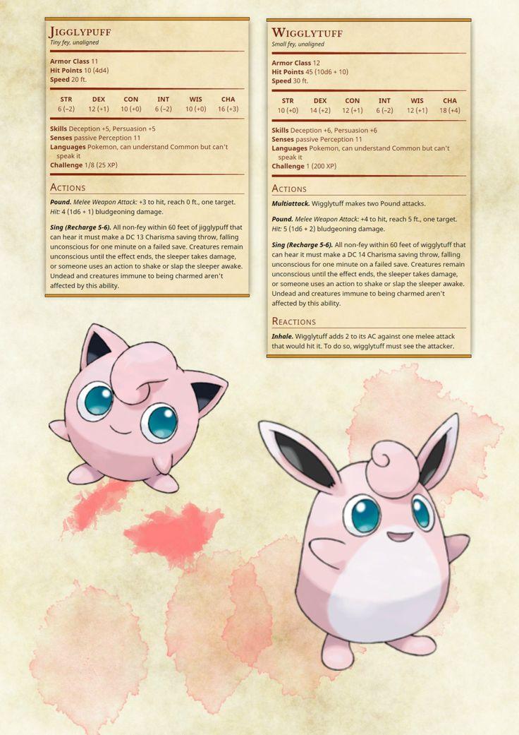 Pokémon Monster Conversion by caniswolfman24