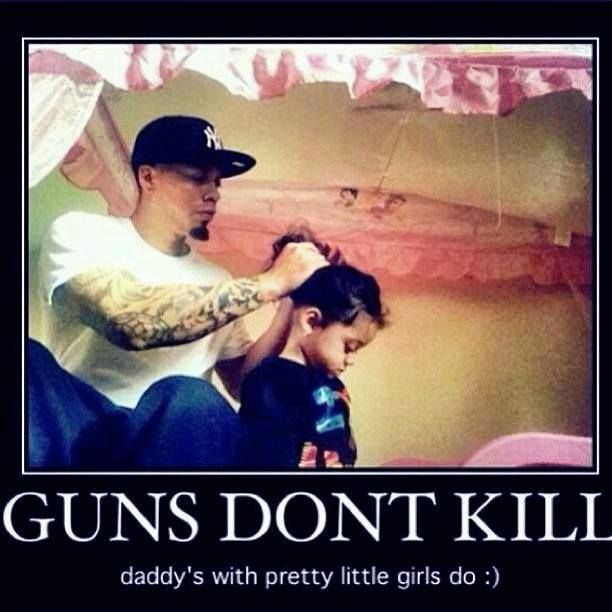 Guns don't kill people uncles with pretty nieces do shirts-4LVS