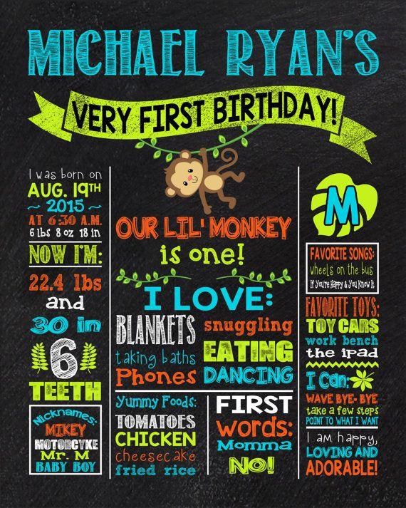 25 Best Ideas About Monkey Birthday Cakes On Pinterest