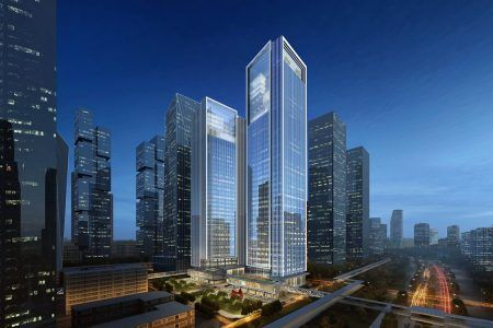 Goettsch Partners Wins Competition for Cofco Qianhai Asia Pacific Headquarters Towers