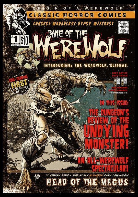 Werewolf Stories | Bane of the Werewolf Comic Book Download