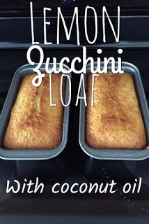 The Pintester: Review: Lemon Zucchini Loaf - A lemony zucchini loaf made with coconut oil.  See if it passed my test!