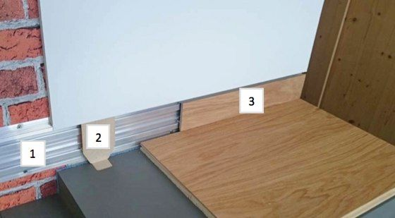 Flooring units | Flush-mount skirting board | Admonter. Check it out on Architonic