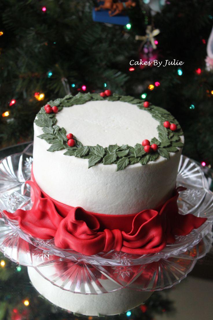 Christmas Cake Decoration Buttercream :