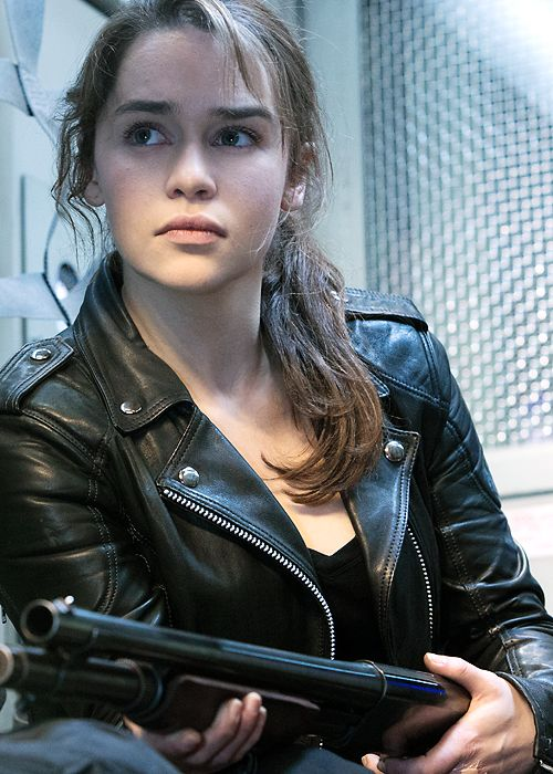 1000 images about emilia clarke on pinterest game of - Sarah connor genisys actress ...