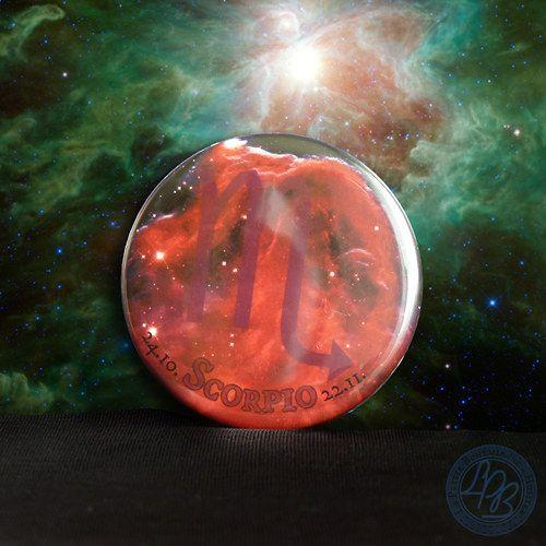 """Magnetka Horsehead Nebula - ŠTÍR"" (""Horsehead Nebula - SCORPIO magnet""); Oct 24 - Nov 22 | approx. $2.43"