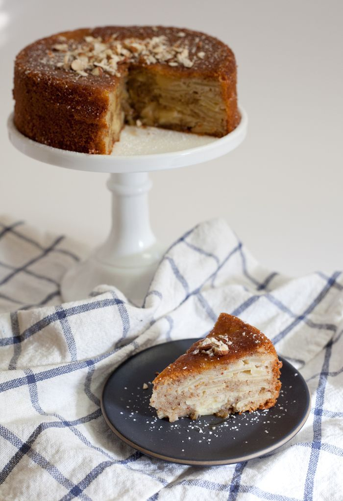 Apple Cake – gluten free, dairy free, refined sugar free - could substitute buckwheat flour for oat flour I think