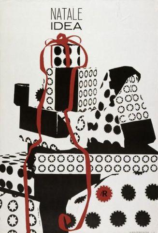 By Lora Lamm (born 1928), 1961,  Natale, Idea, la Rinascente. (I)