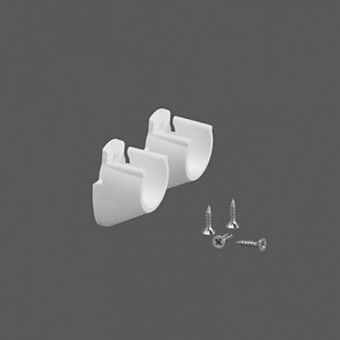 Køb BØJLESTANGSHOLDER HVID - ELFA LUMI online hos BAUHAUS. Vi har altid den rigtige pris. Bøjlestangsholder hvid - Elfa Lumi Diskret bøjlestangsholder i hvid der gør det muligt at opsætte en bøjlestang melle to vægge i ethvert hjem.