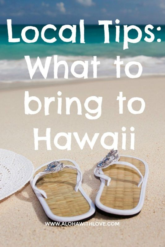 Want to know what a local girl from Hawaii suggests you pack in your luggage? Here are some items that I think you'll need on your next Hawaii vacation.