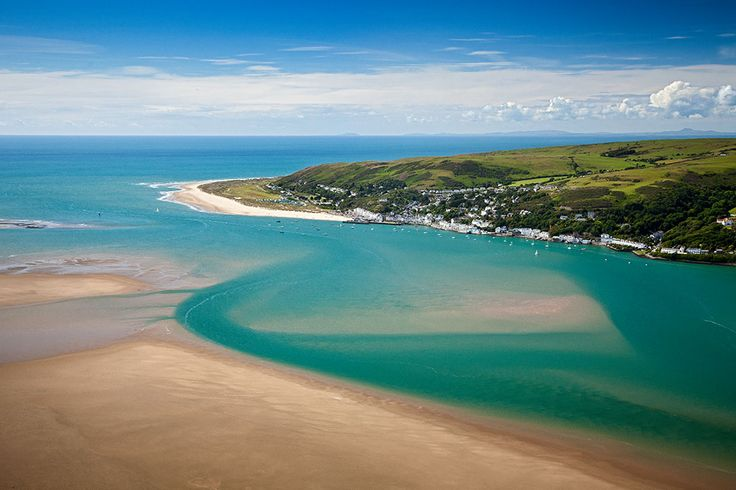 Birds eye view of Aberdovey!