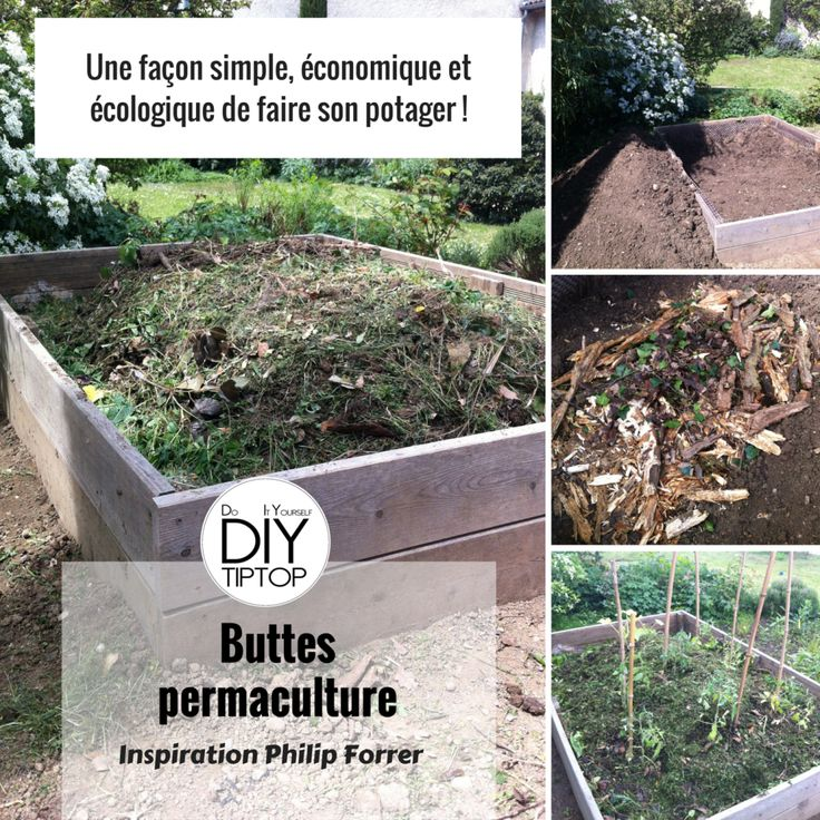 17 best images about diy faire son potager bio for Potager bio