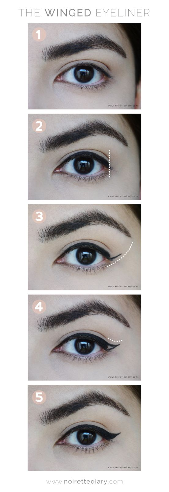 Pictorial: The Winged Eyeliner