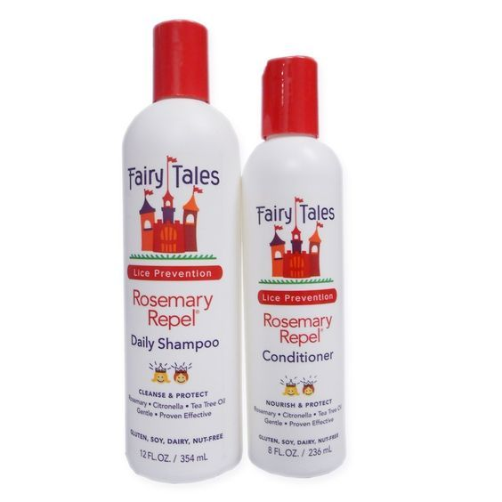 Fairy Tales Rosemary Repel Lice Prevention 12-Ounce Shampoo and 8-Ounce Conditioner Combo -- Quickly view this special  product, click the image : Hair Care Shampoo