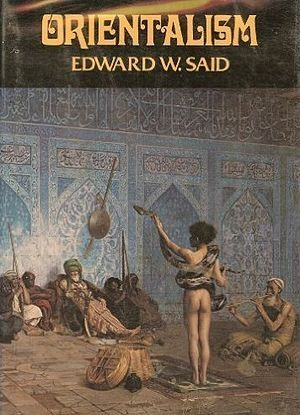 Orientalism (Edward Said) The first-edition cover of Orientalismo (1978)…