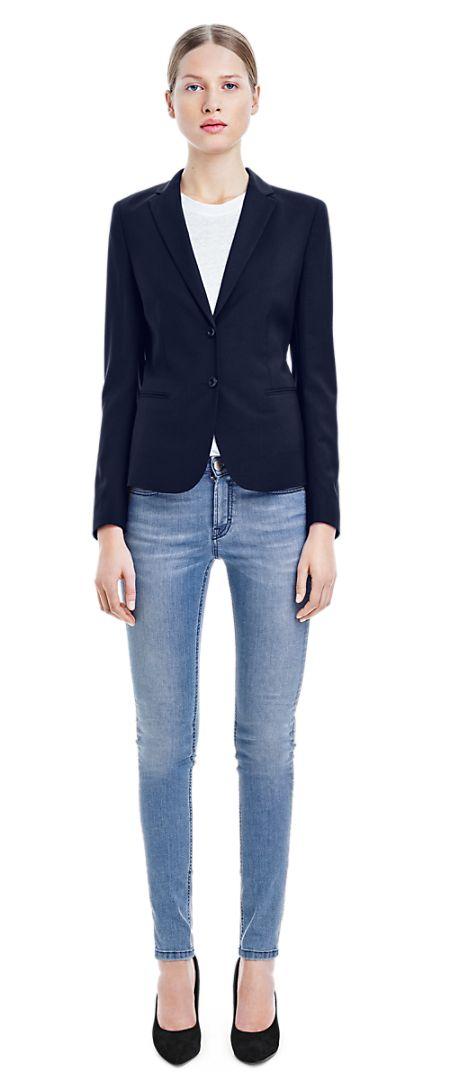Jackie Cool Wool Jacket - Jackets - Shop Woman - Filippa K