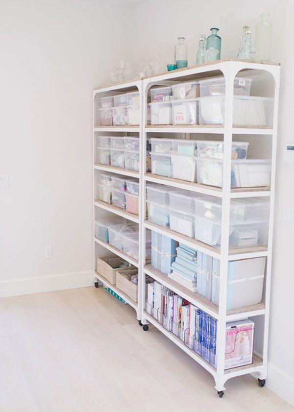 craft-room-wrap-home-office-garage-west-elm-reclaimed-wood-metal-white-shelves-garage-organization