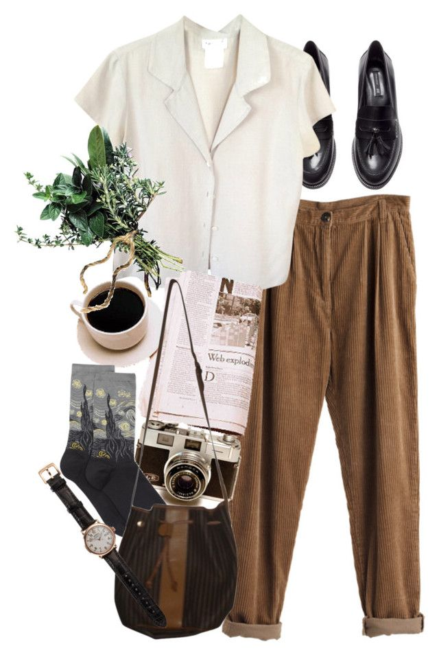 Untitled #8829 by nikka-phillips on Polyvore featuring agnès b., HOT SOX, H&M, Fendi, Shinola and MTWTFSS Weekday