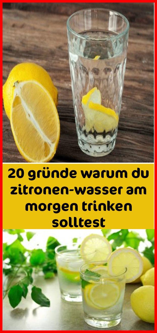 20 Gründe warum du jeden Morgen Zitronen-Wasser trinken solltest | Mit uns abne…