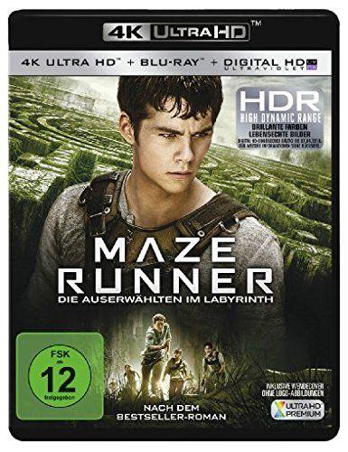 Maze Runner: Die Auserwählten im Labyrinth - Ultra HD Blu-ray [4k + Blu-ray Disc]