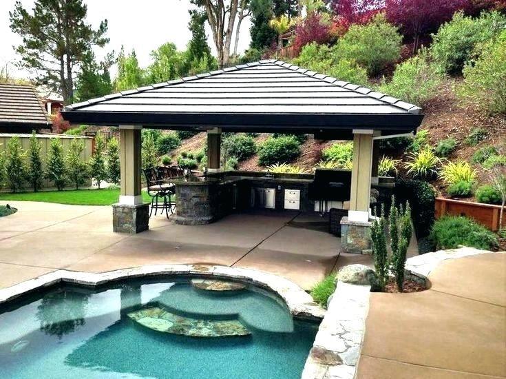20 Gorgeous Backyard Pavilion Ideas Backyard Pavilion Pool