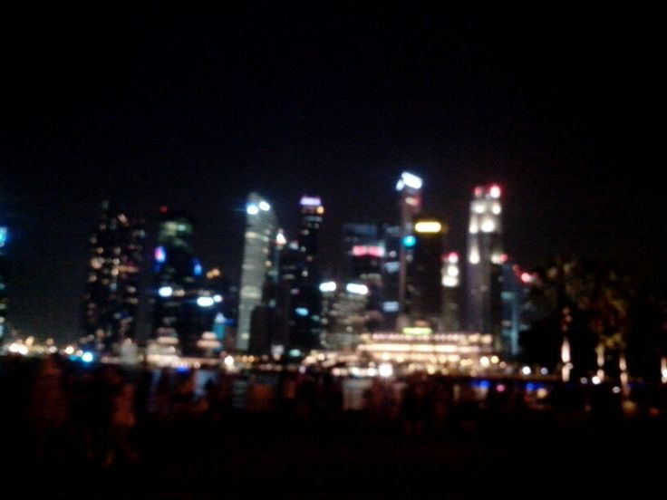 singapore's night life  #whatascenery #blurred