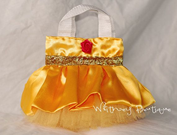 Belle Princess Tote Bag by WhitneyBoutique on Etsy, $8.95