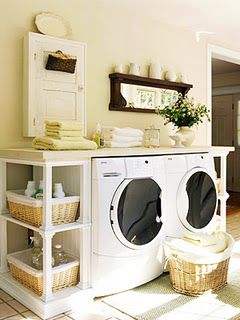 I want a laundry room like this