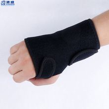 Adjustable compression wrist belt weight lifting support neoprene wrist brace
