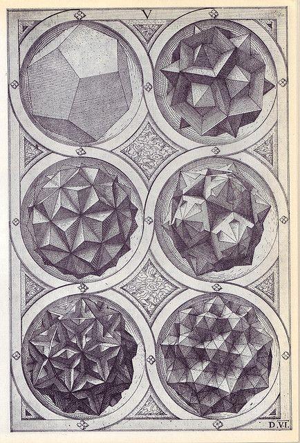 Wenzel Jamnitzer, Perspectiva Corporum Regularium, 1568