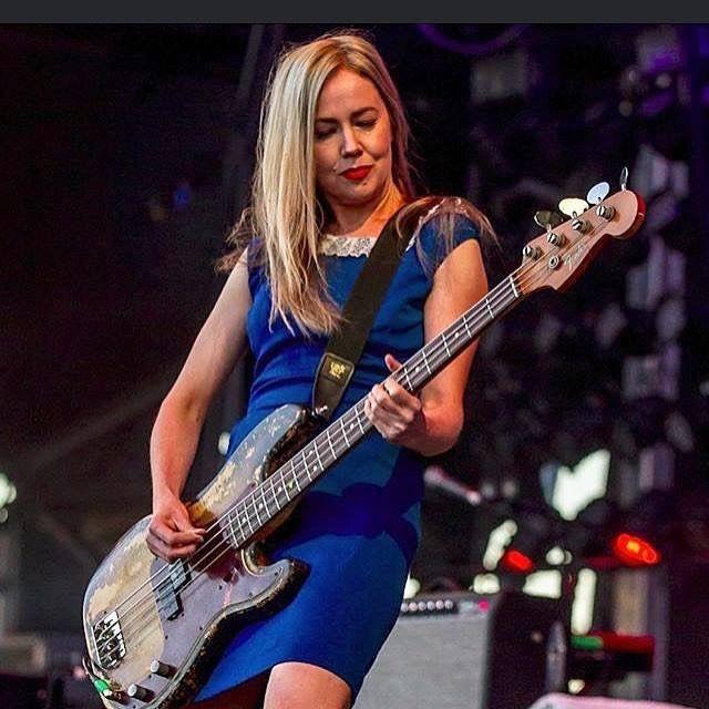 Stunning Steph on bass @ ADOTG Brisbane