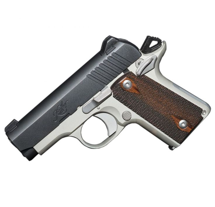 Kimber Micro Carry Rose wood grips Two-tone 380 $499.00 SHIPS FREE